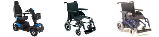 Wheelchair and mobility scooter sale