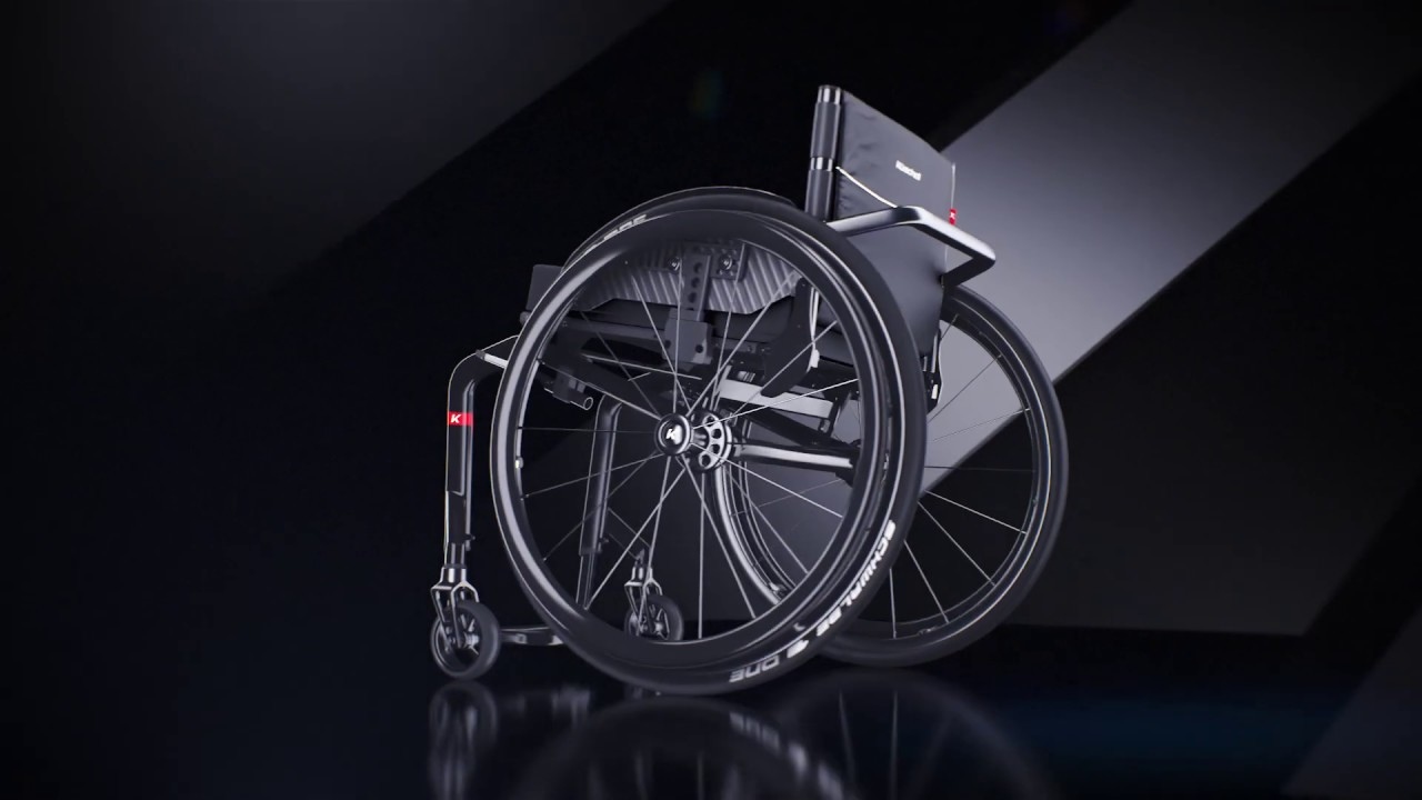 Kschall K-series 2.0 Lightweight Wheelchair - Invacare Ireland
